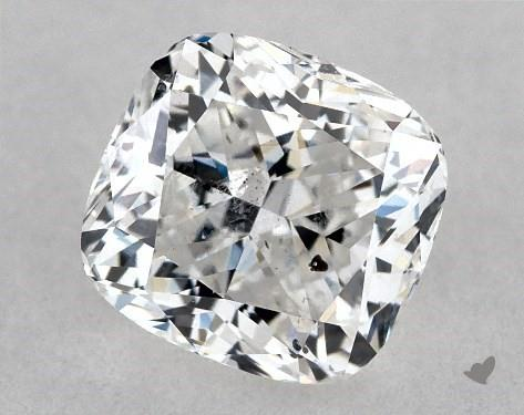 0.74 Carat F-SI2 Cushion Modified Cut Diamond
