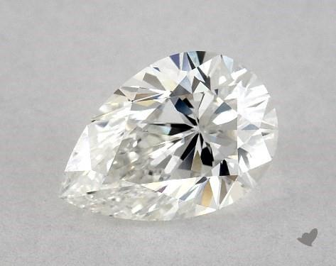 0.81 Carat G-SI1 Pear Shape Diamond