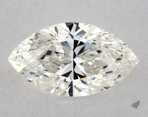 1.00 Carat H-IF Marquise Cut Diamond