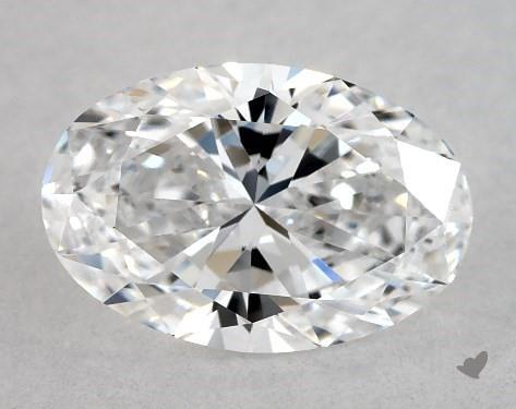 0.72 Carat D-IF Oval Cut Diamond