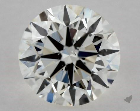 0.70 Carat H-SI2 Excellent Cut Round Diamond