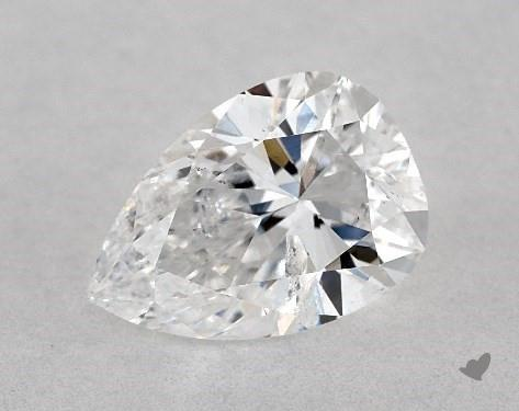 1.02 Carat D-I1 Pear Shape Diamond