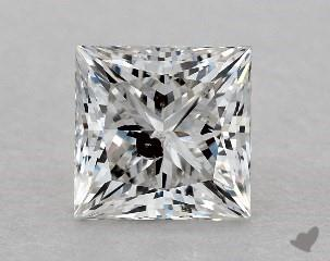 princess0.7 Carat HI1