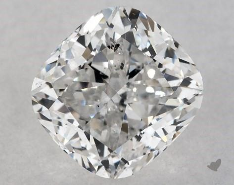 0.71 Carat F-SI2 Cushion Modified Cut Diamond
