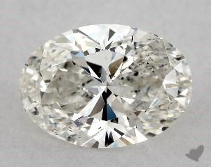 oval0.71 Carat ISI1