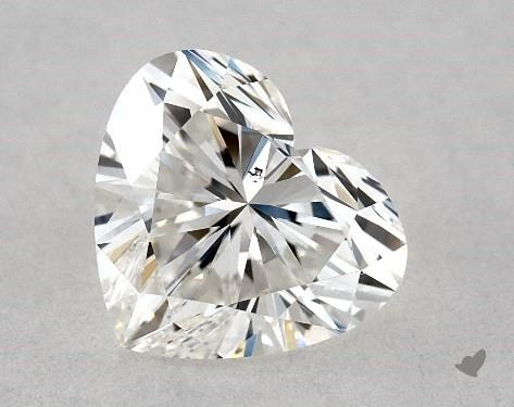1.02 Carat H-SI1 Heart Shape Diamond