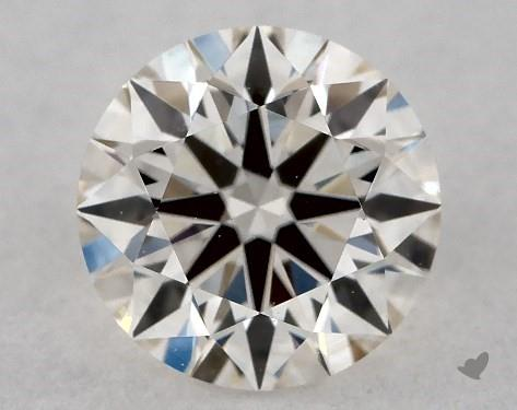 0.71 Carat I-VS1 True Hearts<sup>TM</sup> Ideal Diamond