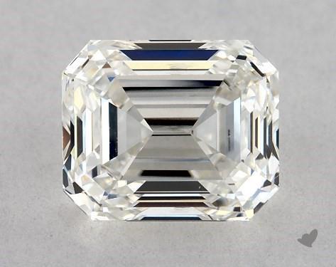 1.08 Carat H-SI1 Emerald Cut Diamond