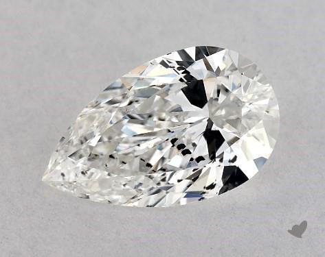 0.50 Carat F-I1 Pear Shape Diamond