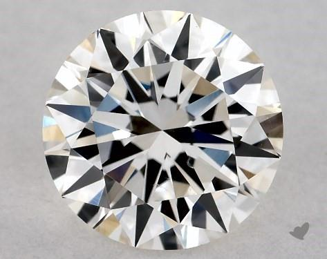 0.70 Carat H-VS2 Excellent Cut Round Diamond