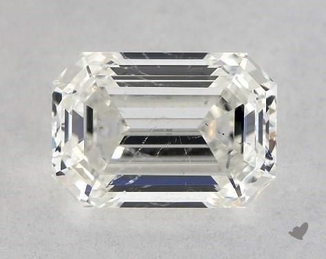 0.90 Carat I-SI2 Emerald Cut Diamond
