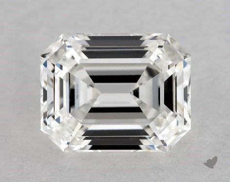 0.74 Carat F-VS1 Emerald Cut Diamond