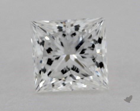 1.53 Carat E-SI1 Ideal Cut Princess Diamond