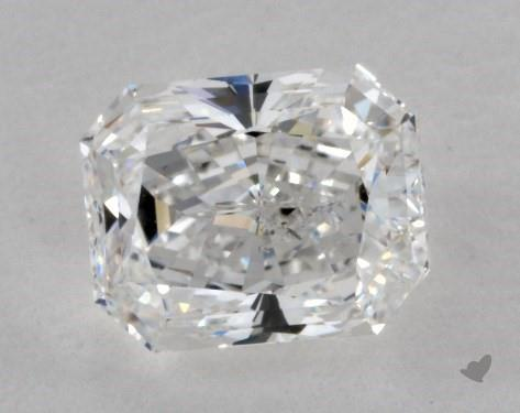 1.63 Carat E-SI1 Radiant Cut Diamond