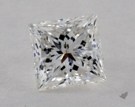 1.02 Carat G-SI1 Ideal Cut Princess Diamond