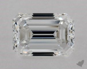 0.92 CARAT E-VVS1 EMERALD CUT DIAMOND