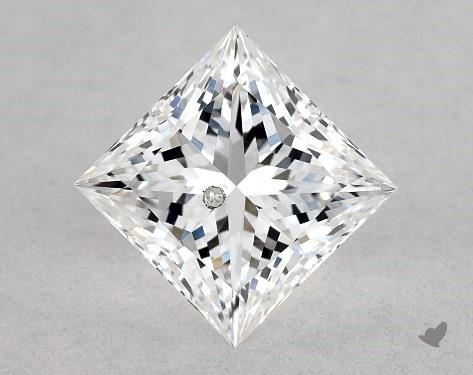 0.71 Carat E-I1 Ideal Cut Princess Diamond