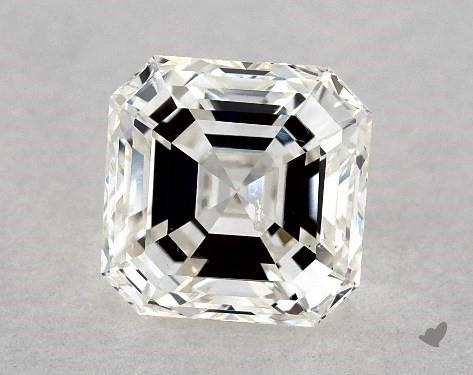 1.00 Carat H-SI1 Square Emerald Cut Diamond