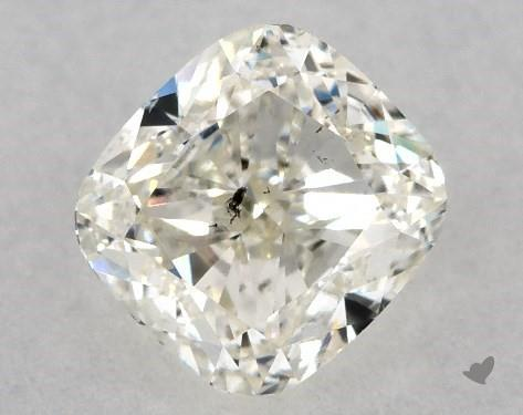 0.71 Carat K-SI2 Cushion Modified Cut Diamond