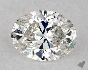 oval0.72 Carat ISI2