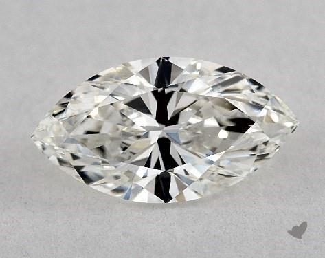 0.81 Carat H-VS1 Marquise Cut Diamond