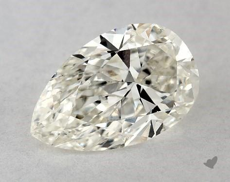0.72 Carat K-SI1 Pear Shape Diamond