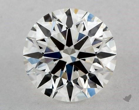 1.58 Carat G-VS2 True Hearts<sup>TM</sup> Ideal Diamond