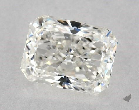 0.71 Carat H-VS2 Radiant Cut Diamond