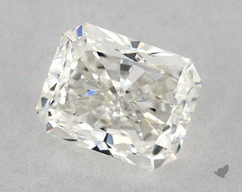 0.71 Carat I-SI1 Radiant Cut Diamond