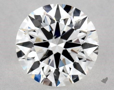 0.73 Carat E-SI1 True Hearts<sup>TM</sup> Ideal Diamond