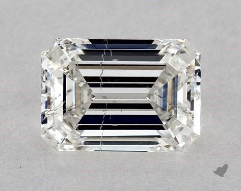 1.20 Carat H-SI2 Emerald Cut Diamond