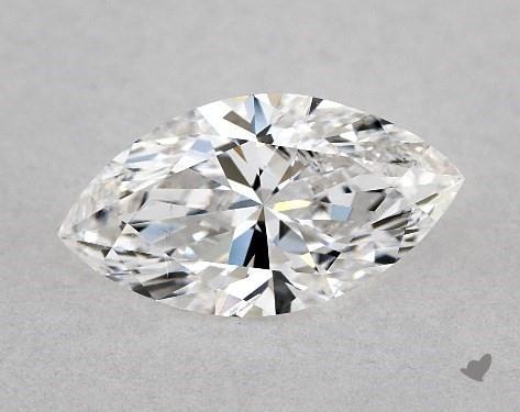 0.71 Carat E-SI2 Marquise Cut Diamond