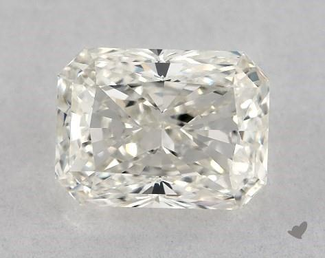 0.80 Carat I-VVS2 Radiant Cut Diamond