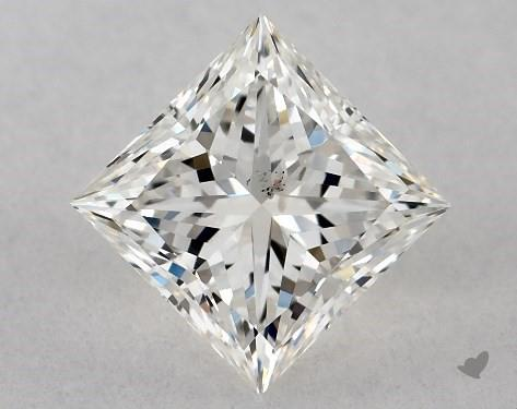 0.70 Carat I-SI2 Ideal Cut Princess Diamond