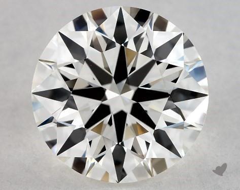 1.45 Carat H-VVS2 Excellent Cut Round Diamond