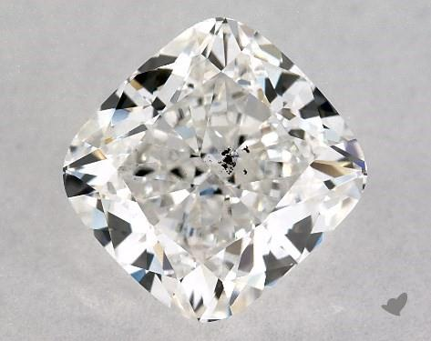 1.02 Carat G-SI1 Cushion Modified Cut Diamond