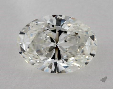 4.01 Carat H-VS2 Oval Cut Diamond