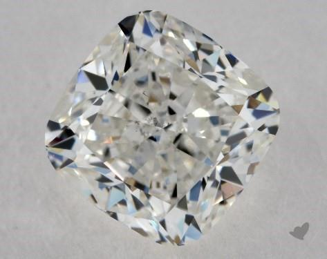 1.90 Carat H-SI1 Cushion Modified Cut Diamond