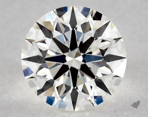 0.72 Carat H-VS2 True Hearts<sup>TM</sup> Ideal Diamond