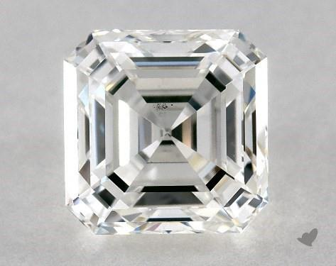 1.50 Carat G-VS2 Square Emerald Cut Diamond