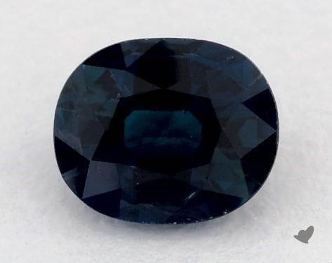 <b>0.89</b> carat Oval Natural Blue Sapphire