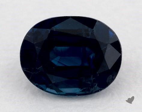 <b>1.09</b> carat Oval Natural Blue Sapphire