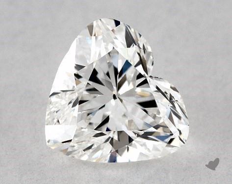 1.00 Carat F-SI1 Heart Shape Diamond