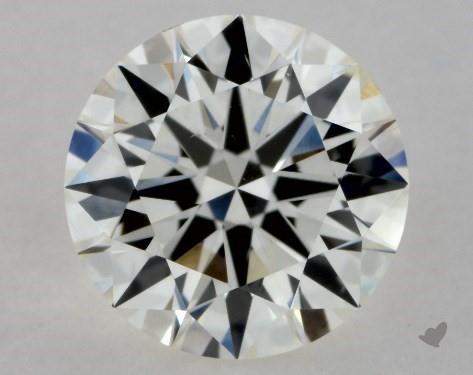 0.72 Carat J-SI1 Excellent Cut Round Diamond