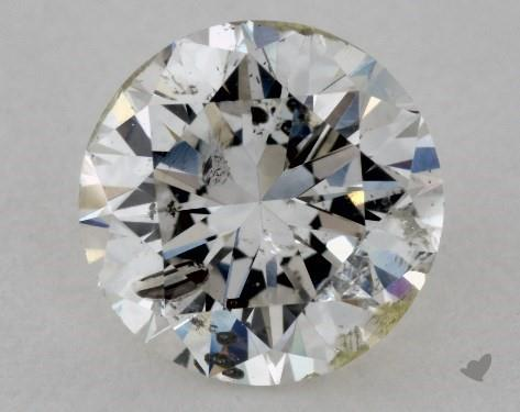 1.01 Carat H-I1 Very Good Cut Round Diamond