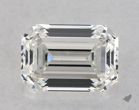 0.87 Carat H-VS2 Emerald Cut Diamond