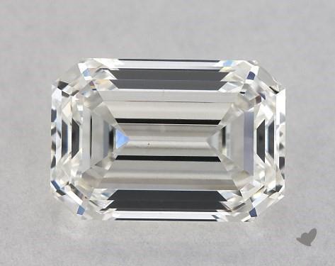 0.87 Carat H-VS2 Emerald Cut Diamond