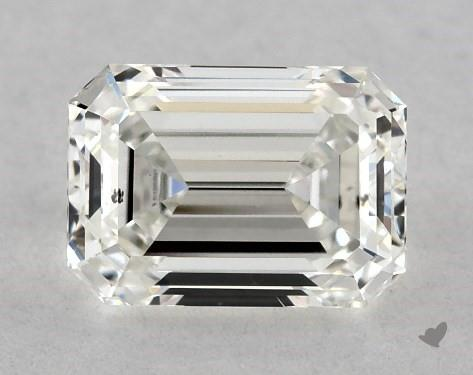 0.73 Carat G-SI1 Emerald Cut Diamond