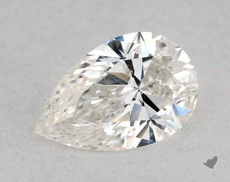 0.75 Carat I-SI1 Pear Shape Diamond