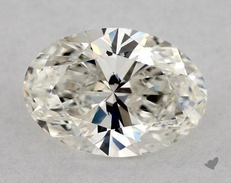 0.70 Carat J-VS1 Oval Cut Diamond